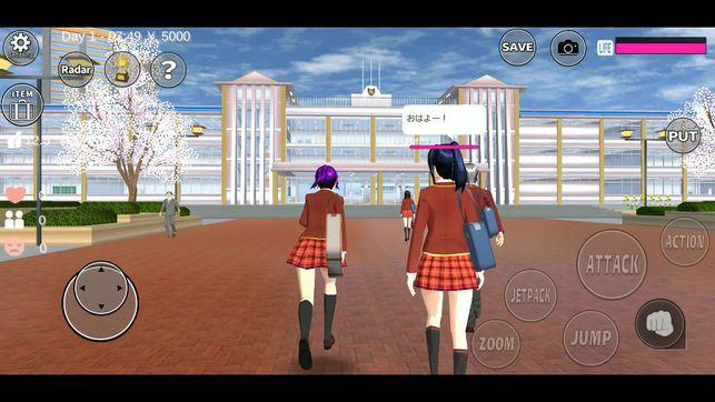 樱花校园模拟器中文版苹果版